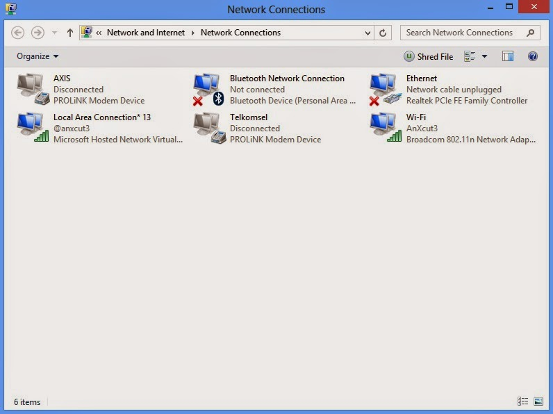 cara membuat wifi hotspot pada laptop windows 8 menggunakan CMD