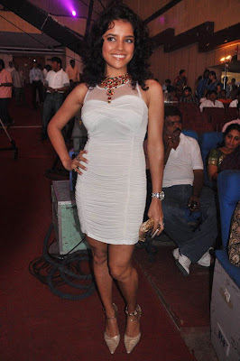 Actress Pia Bajpai Hot Skirt in Ko Audio Launch Photos