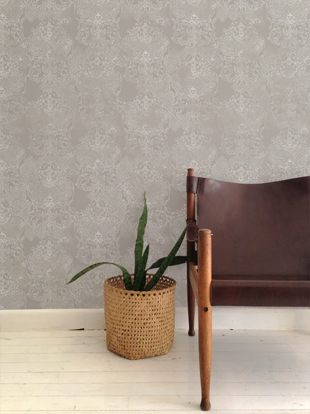 Muskwood Wallpaper and Textiles Australia - Neo classical grey
