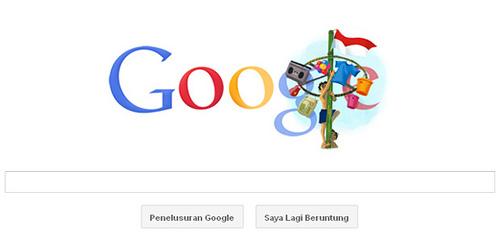 Google Doodle Pada Tanggal 17 Agustus 2011