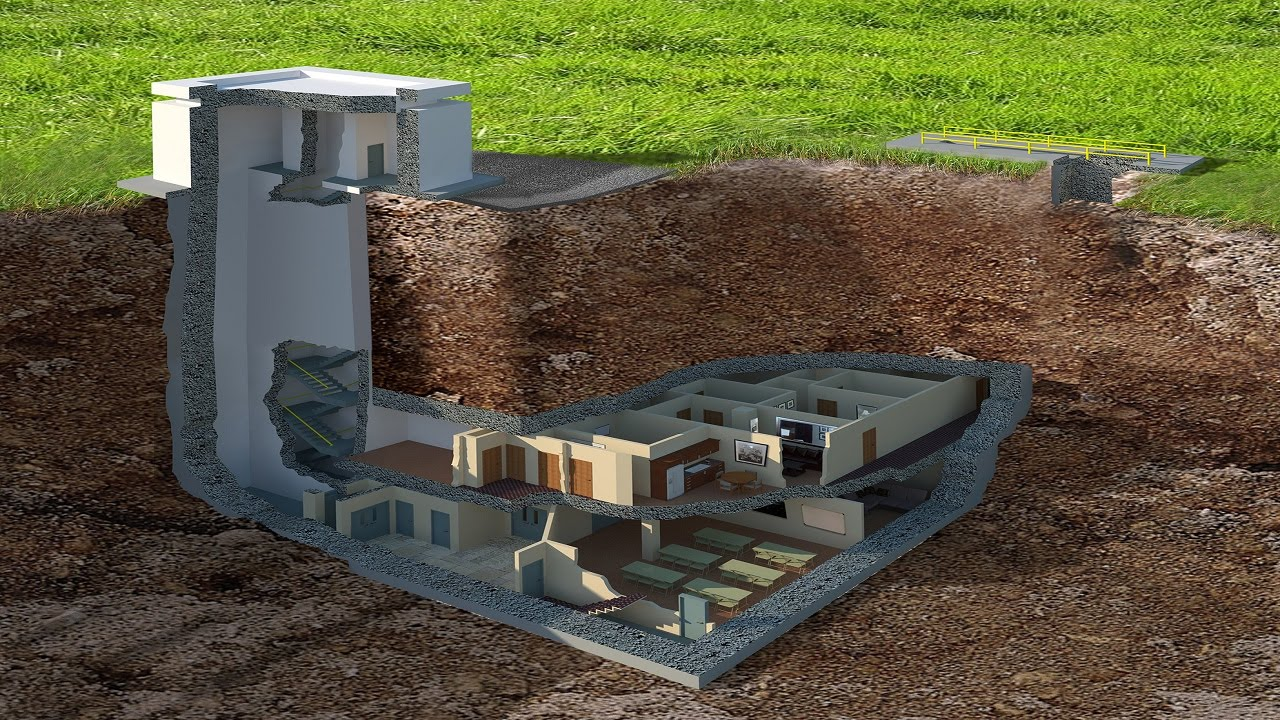 underground bunkers fallout shelters fortified homes hardened