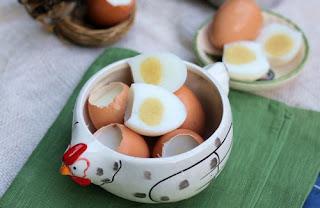Món thạch trứng gà cho bé