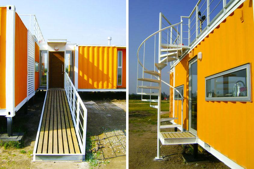 Casas contenedores el proyecto de arqtainer liray es una - Casa hecha con contenedores ...