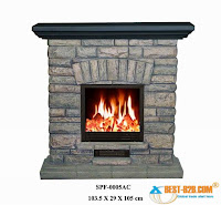 Brick Electric Fireplace1