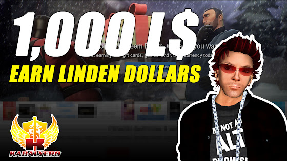 Received 1000 Linden Dollars From StuffPoints ★ Earn Linden Dollars ★ Second Life