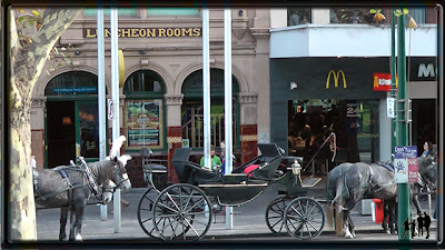 Attelage de Melbourne Flinders Street