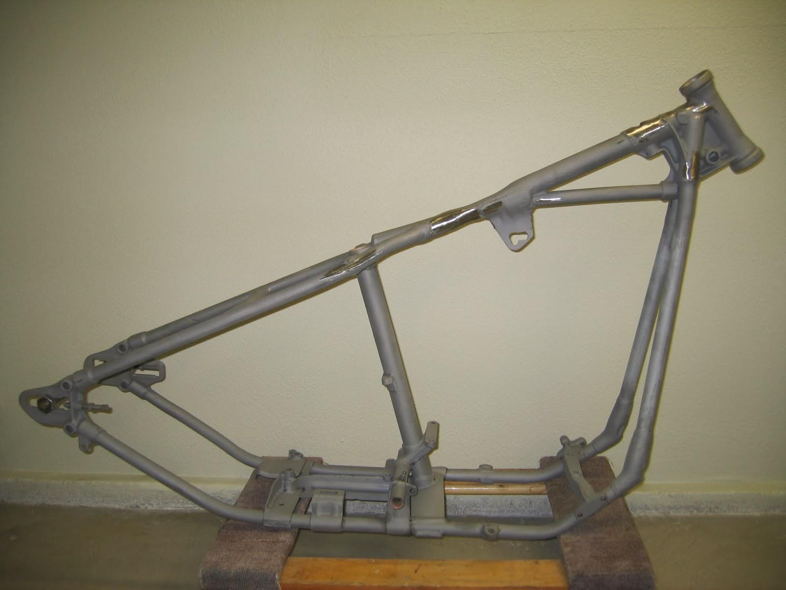 1955 harley davidson straight leg panhead frame 4 sale