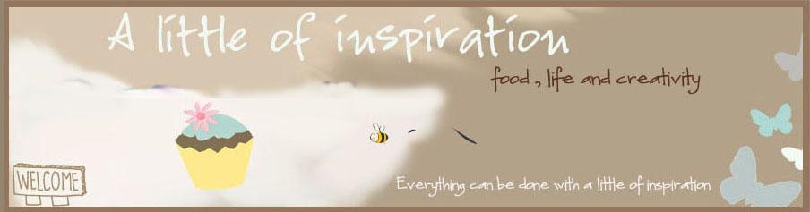 a little of inspiration
