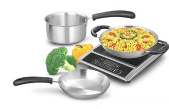 Buy Marvel Induction Base Cookware Set of 3 Pcs Rs. 260 only at Pepperfry.