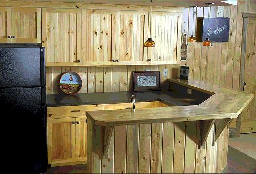 wooden small kitchen design ideas