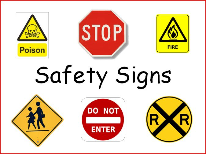 about safety signs when i wrote this song about safety signs i thought