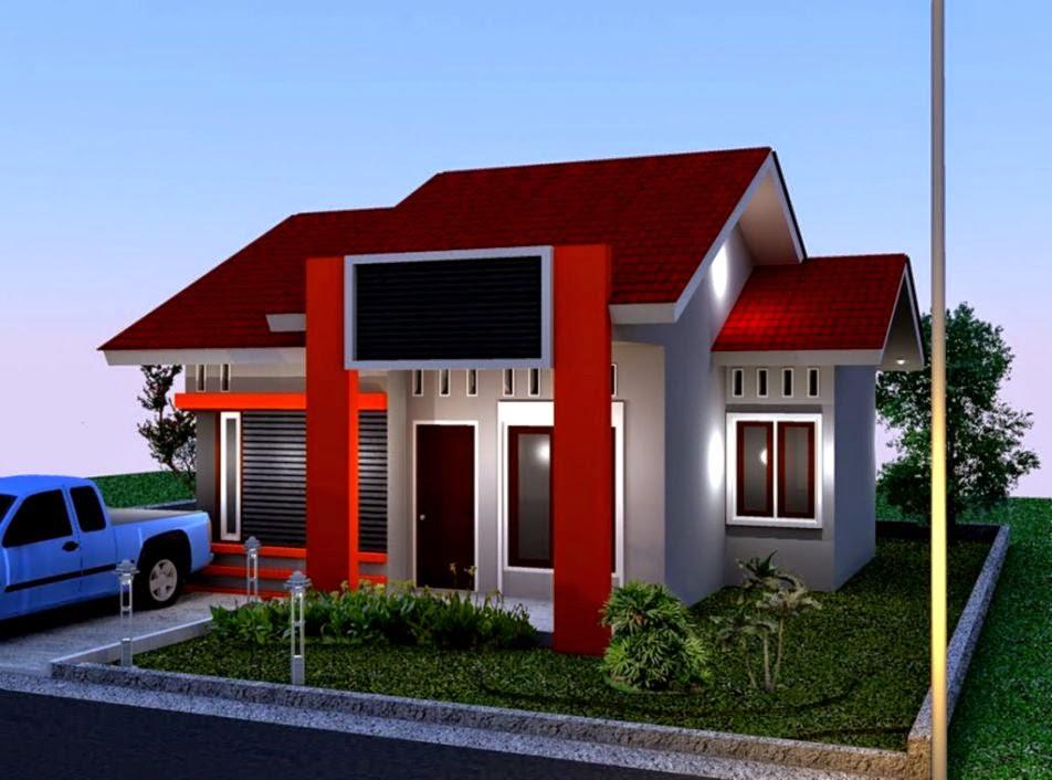 Contoh Gambar Rumah Kampung  Desain Rumah Minimalis   Desain