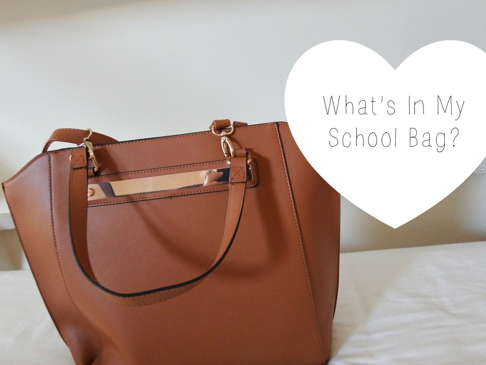 School bag for year 7 - Today I Have The Last Back To School Post In My Little Series And That Is A What S In My School Bag My School Bag This Year Is From Matalan And It