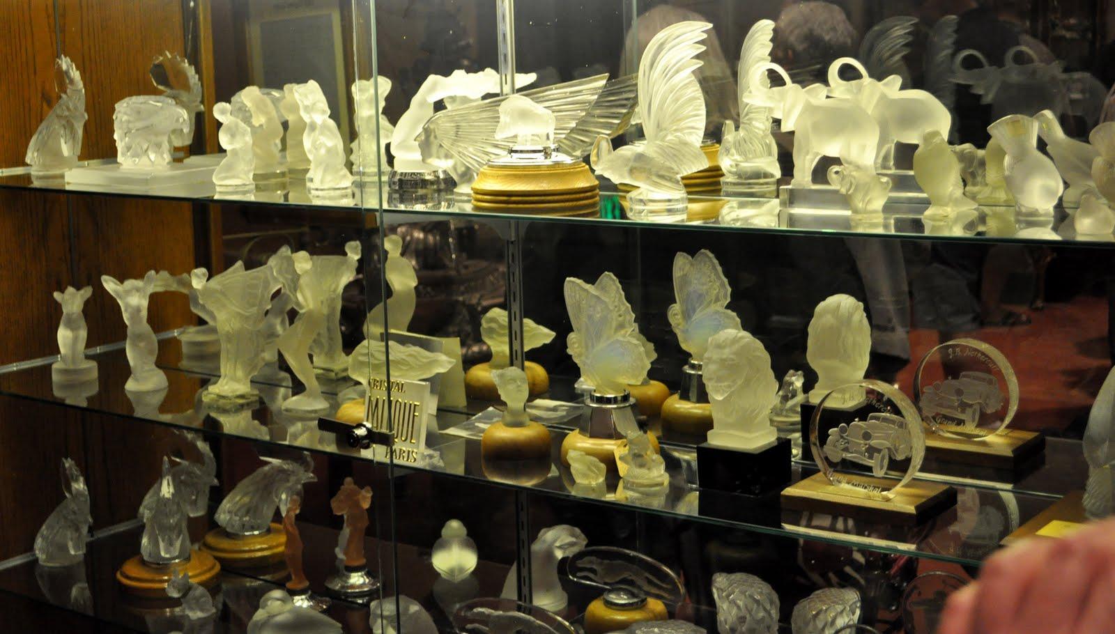 Rare hood ornaments - Lalique Glass Hood Ornaments Information