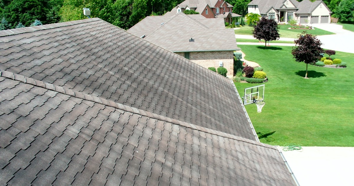 Durham roof cleaning we clean your black roof stains black roof stains gloeocapsa magma in - Reasons get roof cleaned ...