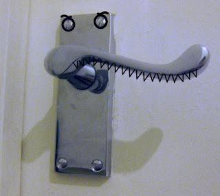 Evil door handle