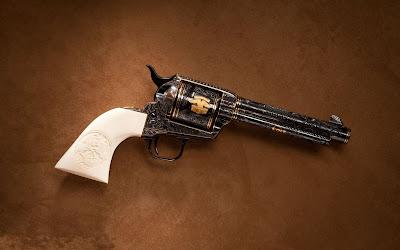 Colección de armas - Colt revólver 32 - Gun (wallpaper)