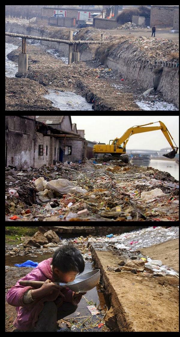 Pencemaran Yang Tragik Di China 14 Gambar