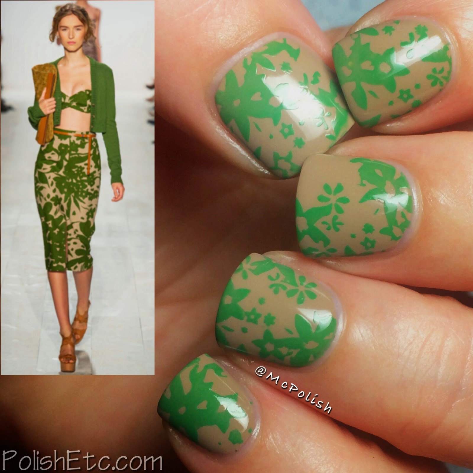 31 Day Nail Art Challenge -#31dc2014 - McPolish - FASHION