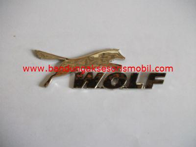 Emblem Car Logo Wolf