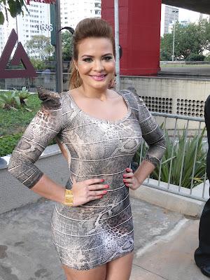 Geisy Arruda vai à Parada do Orgulho LGBT em São Paulo (Foto: Reprodução / Twitter)