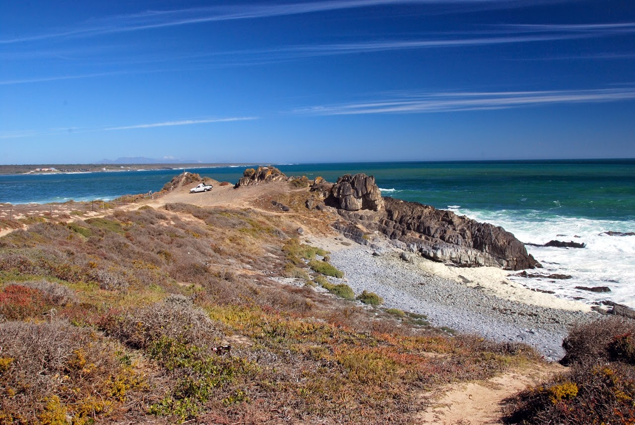Küstenstran in Südafrika