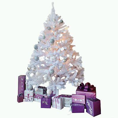 Arboles de navidad color blanco parte 2 - Arbol de navidad blanco ...