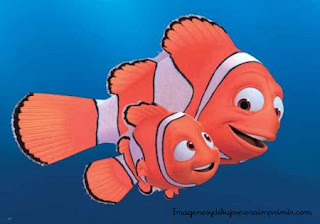 Nemo con Marlin su padre