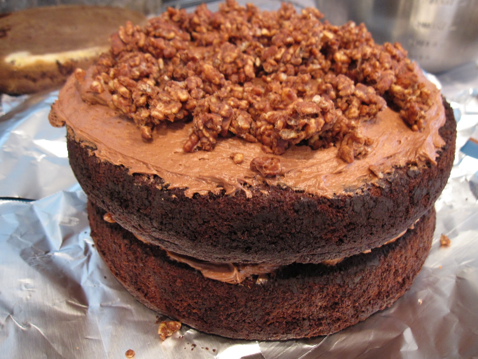 ... what's cookin'...: (Adapted) Devil's Food Cake with Hazelnut ...