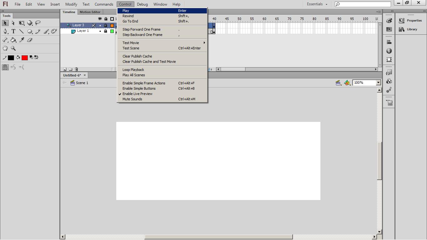 Membuat Masking Pada Adobe Flash