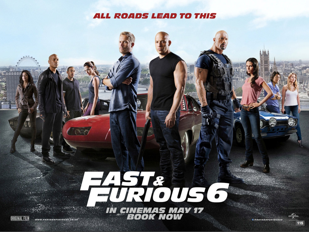 Ric's Reviews: Film: Fast & Furious 6