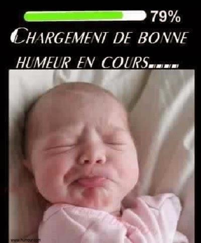 Une photo bébé drôle pour commentaire facebook