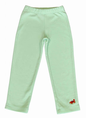 Girls mint green leggings Green Nippers