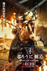 """Synopsis: 'Rurouni Kenshin: The Legend Ends' adalah Bagian ketiga dan sekaligus penutup trilogy """"Rurouni Kenshin"""", pertarungan sengit antara Kenshin Himura (Takeru Sato) dengan Makoto Shishio (Tatsuya Fujiwara)."""