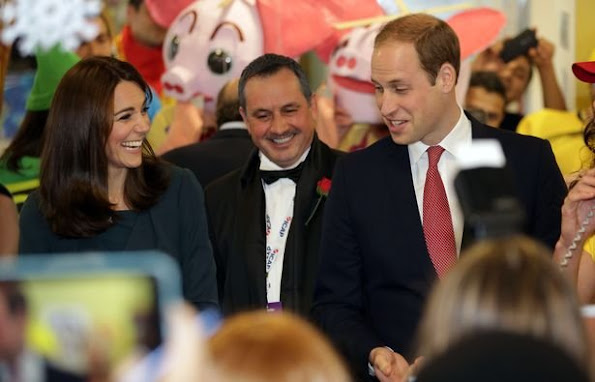Catherine, Duchess of Cambridge and Prince William, Duke of Cambridge attend the ICAP's 23rd Annual Charity Day at ICAP's London Office