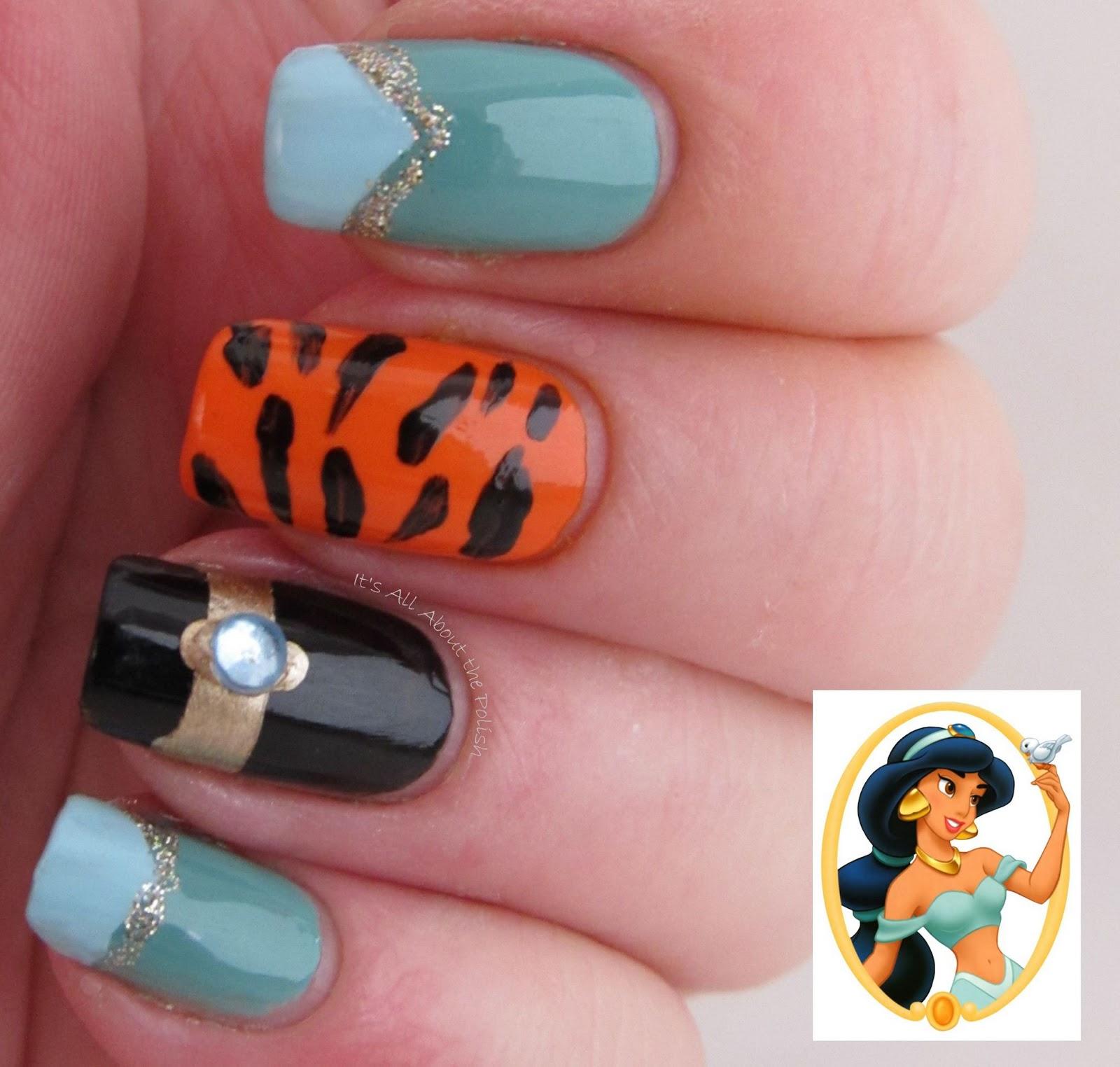 ... All About The Polish: Disney Princess Jasmine Nails - 1600x1524 - jpeg