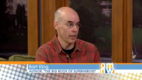 "I talked ""Superheroes"" on TV!"