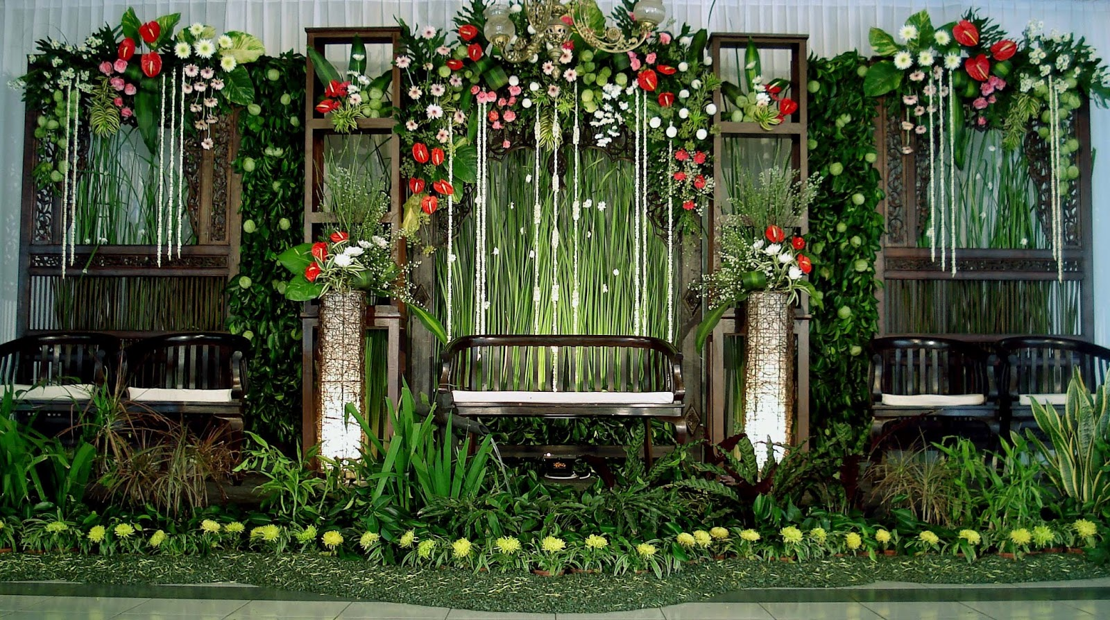 wd etnik dekorasi pernikahan ekslusif dengan harga murah