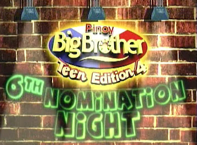 PBB Teen Edition 4 6th Nomination Night