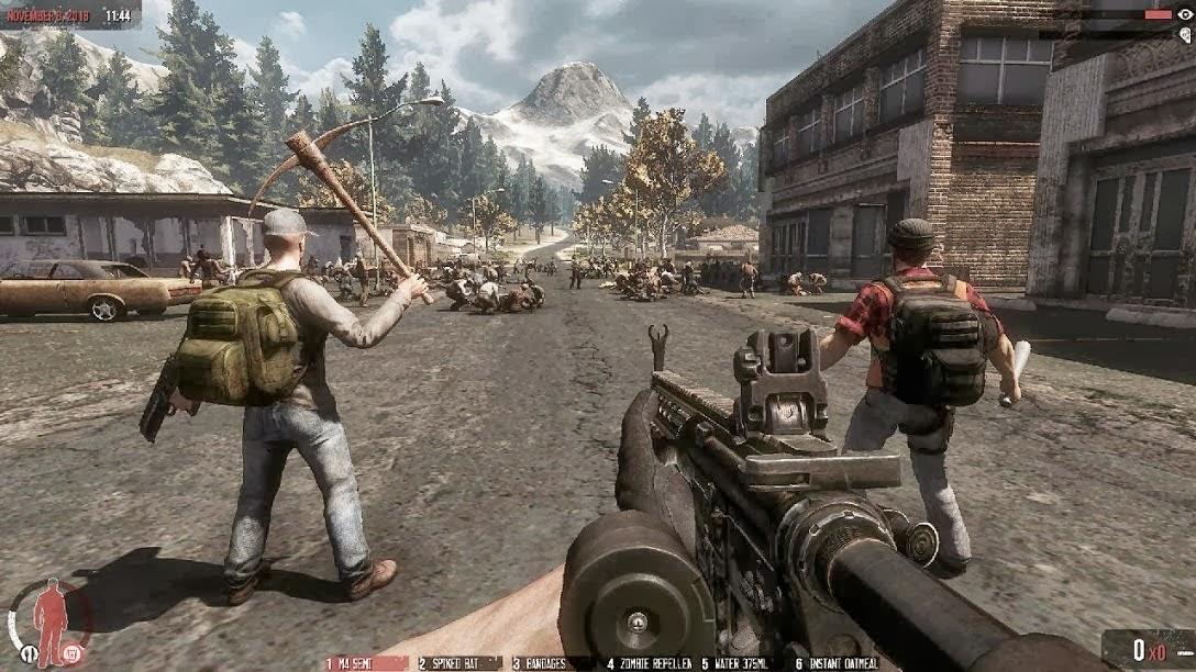 Скачать игры выживание про зомби на пк