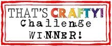 I won at That's Crafty!