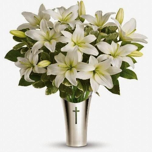 Order a Silver Cross Vase