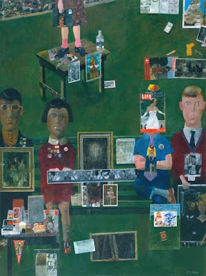 Peter Blake - On the balcony 1955-7
