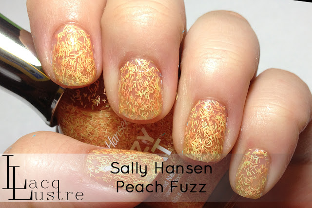 Sally Hansen Peach Fuzz swatch
