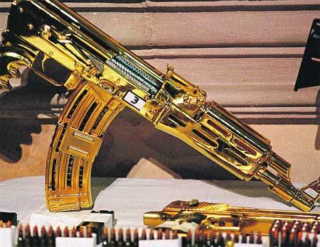 Muchas de Las Armas Bañadas en