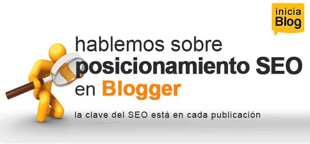 Posicionamiento SEO en Blogger