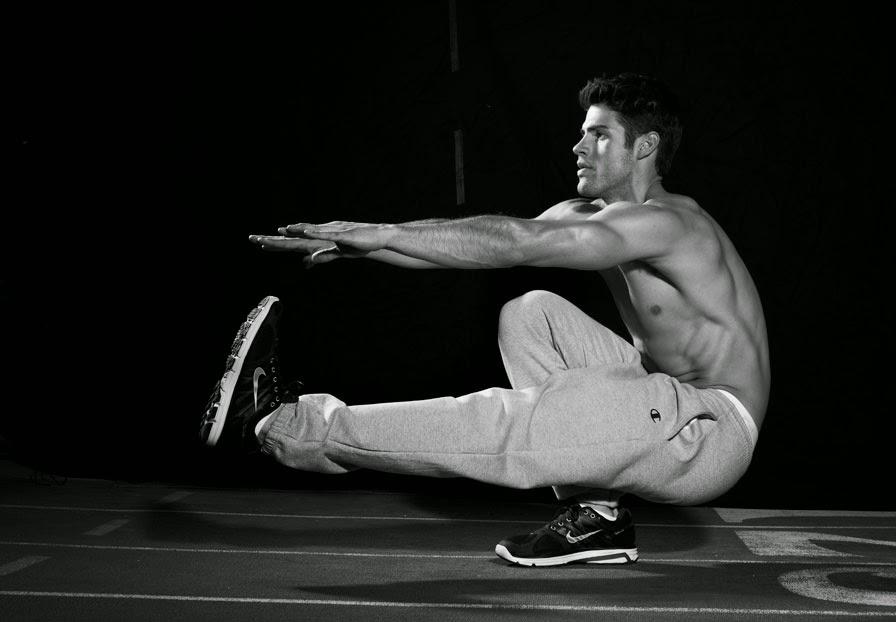 تمارين الفخذ وتمارين العضلة ثلاثية الرؤوس بدون اثقال فقط بوزن الجسم نفسه
