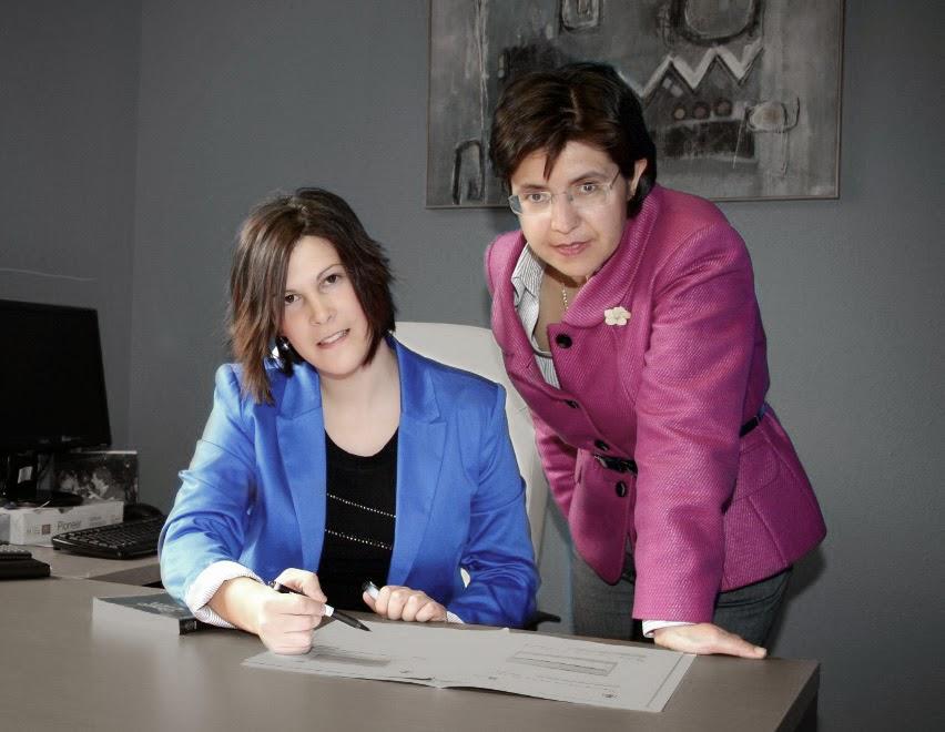 Beatriz Casajús Labairu y Mireia Echauri Pereda