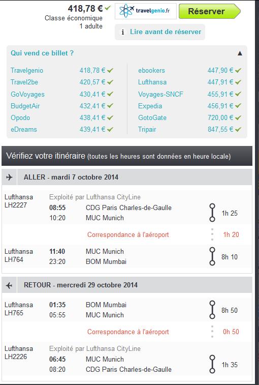 Bombay Lufthansa