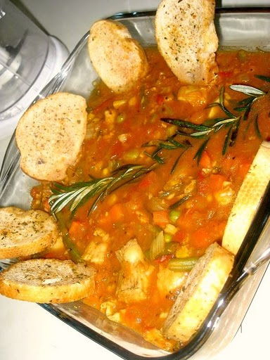 fish stew with vegetables